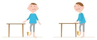 片足立ち運動